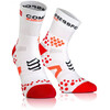 Compressport Racing Socks V2.1 Run Highcut Running Socks red/white